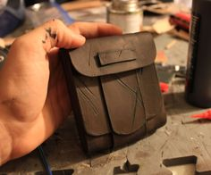 Good evening ladies and gents. In this fine Instructable I will be showing you how to create your own leather pouches! This is also a great introductory in basic leather working.If you have any questions regarding the tutorial, making of your own cosplay/costume or just want to say hi please send me a message on my facebook page (https://www.facebook.com/ToweringProps). Its much easier and faster to get back to you there. :) Over the several steps listed here ill demonstrate a handful of…