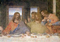 Leonardo da Vinci - The Last Supper, 1495-97   (detail of 161739) - jetzt bestellen auf kunst-fuer-alle.de