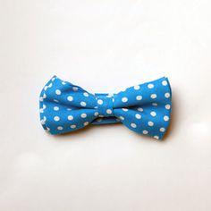 Polka Dot Bow Tie - Milk & Soda