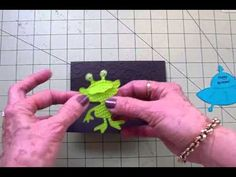"""FUN CARD FOLDS #6 """"...OUT OF THIS WORLD!"""" STEP CARD"""