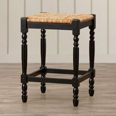 "Waquoit 24"" Bar Stool with Cushion 