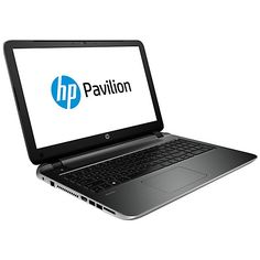 "Buy HP Pavilion 15-p004na Laptop, Intel Core i5, 8GB RAM, 1TB, 15.6"", Silver Online at johnlewis.com"
