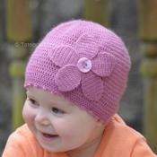 Cosmos Flower Hat - via @Craftsy