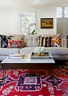 rug and neutral couch Design Manifest