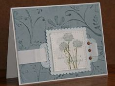 Poster: DawnL inspired by Debbie Olsons blog(January 2007) --- her work is awesome!! Stamps: happy harmony, paisley Paper: bordering blue Ink: bordering blue, always artichoke Accessories: cuttlebug, folder, piercing tool, deco scissors, corner rounder, punch, crop a dile, brads, twill tape