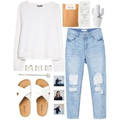 frank by aga2406 on Polyvore featuring MANGO, Maison Margiela and Accessorize