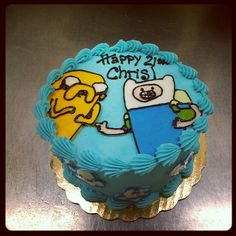 Adventure time cake by kelly rice