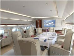 """""""Private Jet Interiors""""- life in the air Luxury Jets, Luxury Private Jets, Private Plane, Cabin Crew Jobs, Jet Privé, Private Jet Interior, Private Flights, Aircraft Interiors, Jet Plane"""