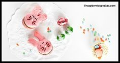 DIY Easter Bunny Macarons Tutorial Easter Bunny, Macarons, Cooking Recipes, Diy, Foods, Food Food, Macaroons, Cooker Recipes, Bricolage