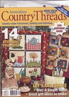 Patchwork Threads 2006  -62 pages with patterns Picasa  part of this mag and part of the patterns keep