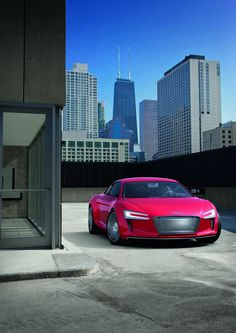 R8 electric....One of my dream Cars...