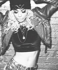Rita Ora. Another one of my fave people. She's a great singer and I love her style