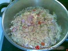 Recipe Images, Mexican Dishes, Oatmeal, Grains, Rice, Breakfast, Spanish, Recipes, Food