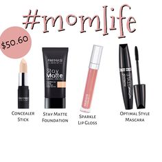 Mom life, This simple perfect look it my to go to look every day! Sparkle Sticks, Concealer, Farmasi Cosmetics, Star Events, Brow Mascara, Foundation, Beauty Boutique, Waterproof Mascara, Nude Lip