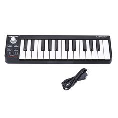 High Quality Worlde Easykey.25 Portable Keyboard Mini 25-Key USB MIDI Controller from Tomtop.com