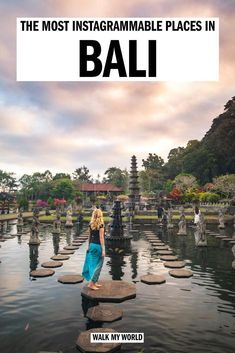 Bali is an Instagrammer's paradise, the whole island is incredibly photogenic, so it can be a little overwhelming to know where to go first. But don't worry, we have you covered. Here is our guide to the most Instagrammable spots in Bali and where to find them! #Bali #Instagram Bali Travel Guide, Asia Travel, Travel Guides, Travel Tips, Travel Abroad, Cool Places To Visit, Places To Travel, Travel Destinations, Luang Prabang