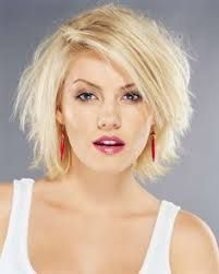 Image result for round face hairstyles 2017