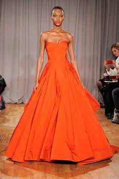 Zac Posen // The 25 Prettiest Dresses Of NYFW #refinery29