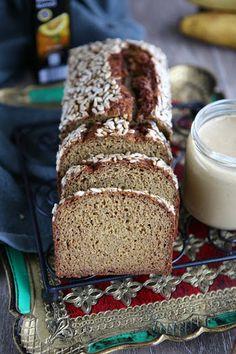 Quinoa, Coconut Flour Einkorn Banana Bread (Sugar Free, Dairy Free)