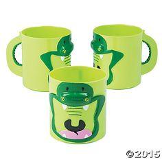 Molded Alligator Cups