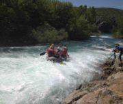 Rafting auf der Zrmanja