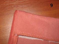 МК по пришиванию обтачки к юбке с застежкой на потайную молнию от Brightfox.