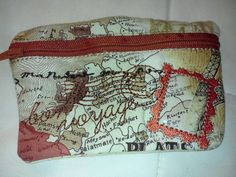 Small zipper bag - Anita goodesign machine embroidery