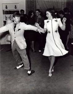 Judy Garland with Mickey Rooney at her 16th birthday party.