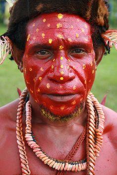 Oceania - Papua New Guinea / Bodypaint   www.facebook.com/loveswish