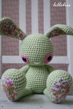Lettuce the Bunny - crochet toys, amigurumi rabbit.