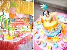 Alhoa Hawaiian Themed Beach Luau Birthday Party via Karas Party Ideas - www.KarasPartyIdeas.com