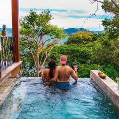 Plunge pool at the Four Seasons Costa Rica