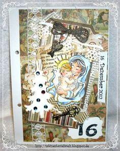 ♥Sabinesbastelwelt♥ December Daily, December, Christmas Calendar