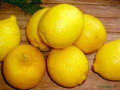 Бабушкина кухня: Консервированные лимоны