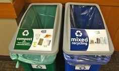 Eco-Set sorting station by Burbank Green Alliance, via Flickr