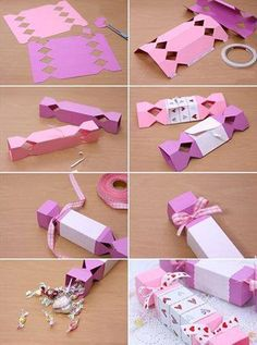 Gift Wrapping DIY Step By Step Tutorials.