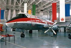 Air Canada Vickers Viscount - Western Canada Aviation Museum