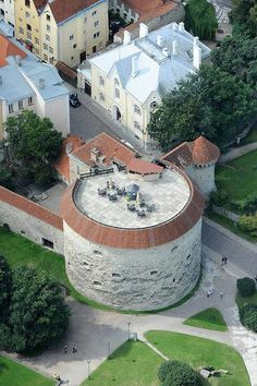 Paks Margareta (Fat Margaret) tower, Tallinn, Estonia. Built in the 16th century, names dervies from the fact it was the largest of the city's fortifications, defended the harbor of Tallinn.