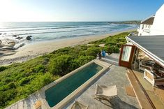 """LekkeSlaap on Instagram: """"Wil jy ook só naby aan die see bly? ⠀ ⠀ The Oystercatchers' Haven is 'n vierstergastehuis op die strand in Bekbaai, Paternoster. Dié…"""" The Oyster Catcher, Places To Go, Luxury, Beach, Outdoor Decor, Instagram, South Africa, Home Decor, Holidays"""