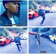 chris brown this is why I love him he so silly Chris Brown Funny, Chris Brown Quotes, Trey Songz, Big Sean, Rita Ora, Nicki Minaj, Ryan Gosling, Chris Brown Outfits, Browns Memes