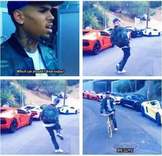 chris brown this is why I love him he so silly