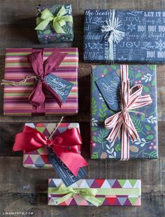 DIY Gift Wrapping Ideas - How To Wrap A Present - Tutorials, Cool Ideas and…
