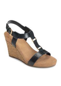 A2 by Aerosoles Navy Plush Nite Sandal