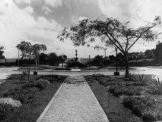 Antiga Praça da Bola, na avenida Constantino Nery. Manaus. Acervo: Moacir Andrade.