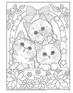 Santa's Furry Helpers Coloring Book Colouring Books: Amazon.de: Kayomi Harai: Fremdsprachige Bücher