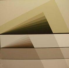 BRIZZI ARY Alternativa 9 1986 Acrílico sobre tela 0.80 x 0.80 Firmado, fechado y titulado al dorso de la obra.
