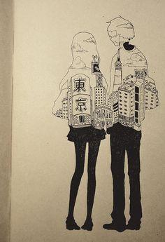 """"""" 人間の恋というのは、しばしば二人の人間の弱点が、出くわしたに過ぎないといった場合がある。- """"Human love is often but the encounter of two weaknesses."""" """""""