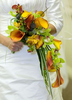The Watering Can - Bridal Bouquets | Unique Cascade Bouquet (wedding)