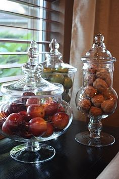 Apothecary jars for the kitchen ...