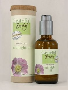 Grateful Body Midnight Oil - biodynamically grown food for your skin